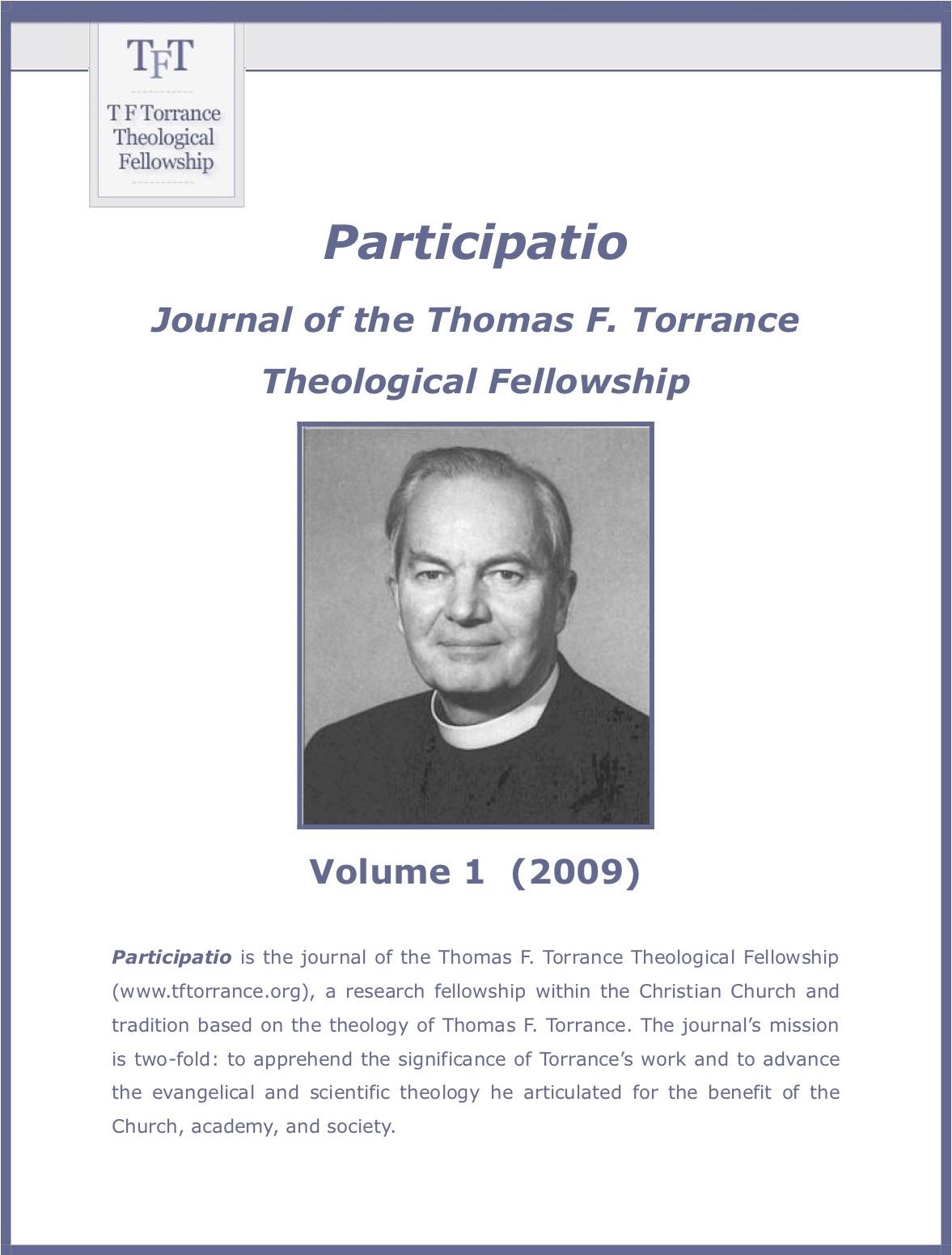 Participatio cover page