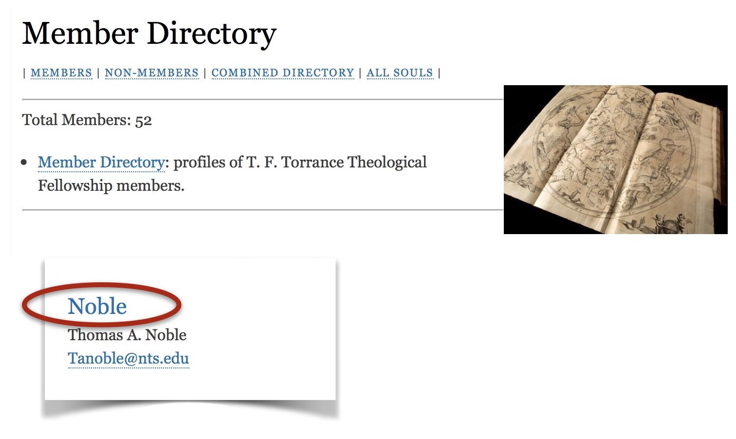 Member Directory sample