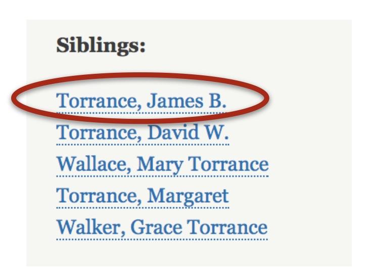 Siblings link