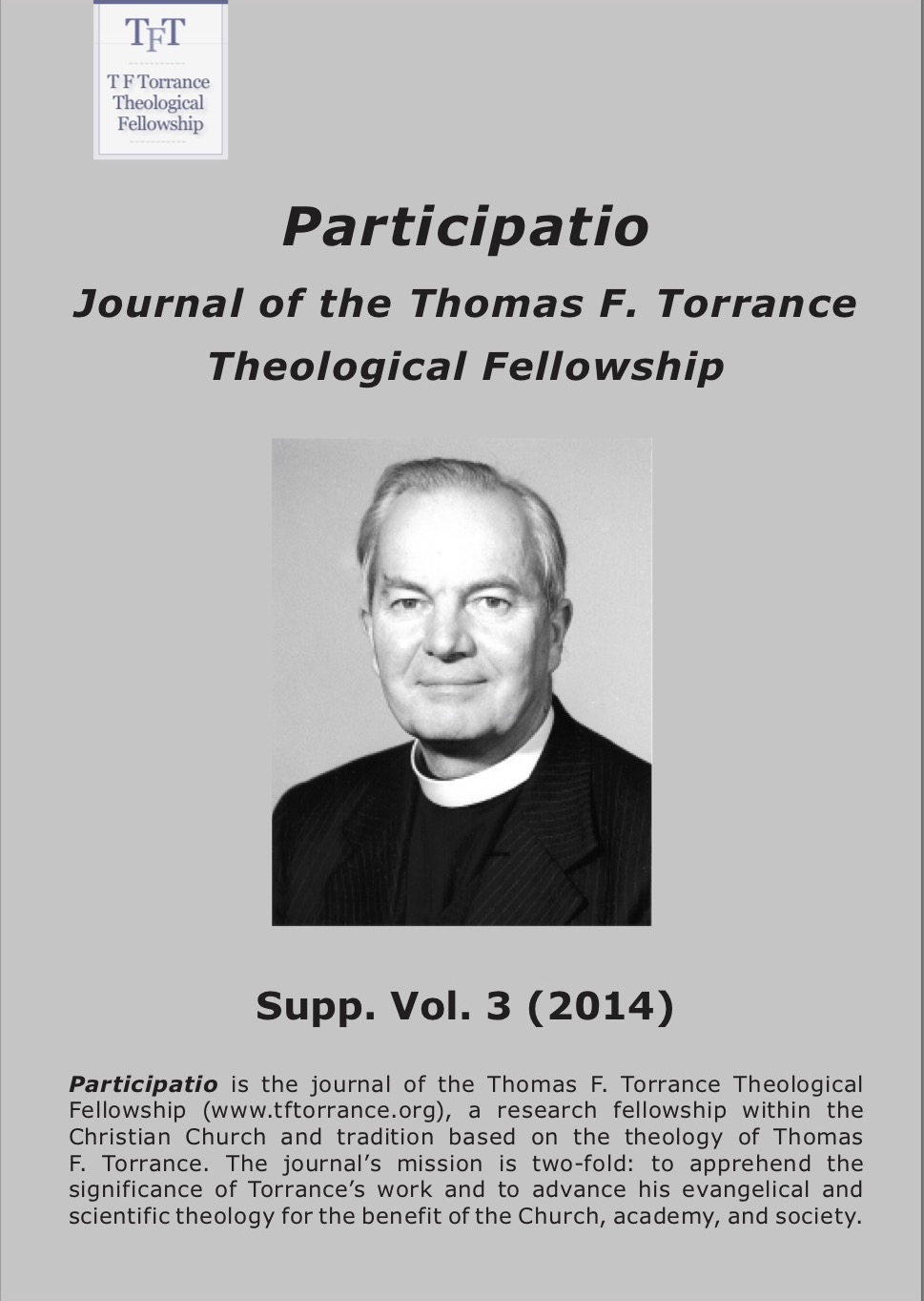 Participatio 2014, Supplement volume 3, cover page