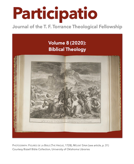 Participatio 2020, Volume 8 Biblical Theology cover page